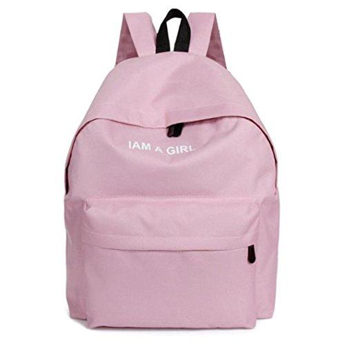 Imagen de  escolares juveniles niña switchali bolsas escolares moda  escolares niño  mujer casual  bolsas deporte viaje rosado