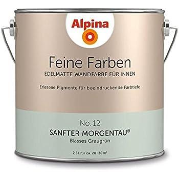 Alpina Feine Farben Sanfter Morgentau 25 Lt 898598 Amazonde