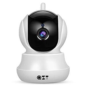 Telecamera IP 1080P, QZT Telecamera Sorveglianza WiFi Interno Senza Fili, Baby Monitor, con Visione Notturna, Motion… 1 spesavip