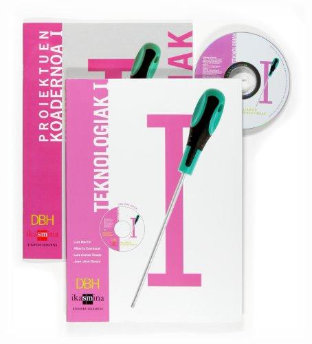 Portada del libro Teknologiak I. DBH - 9788467518245