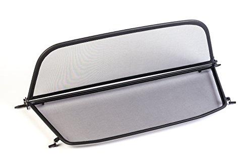 GermanTuningParts Déflecteur de vent pour BMW 2 F23 (à partir du 2014) - Pliable - avec fermeture rapide - Noir | Filet Anti-Remous Coupe | Déflecteur d'air