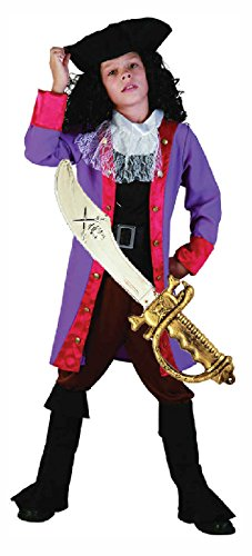 Captain Boys Hook Kostüme (Pirate Boy/Captain Hook-Kostüm mit Schwert ab)