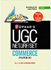 UGC NET/JRF/SET Commerce: Paper II