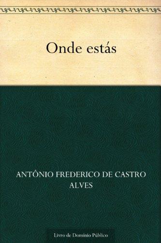 Onde estás (Portuguese Edition) book cover