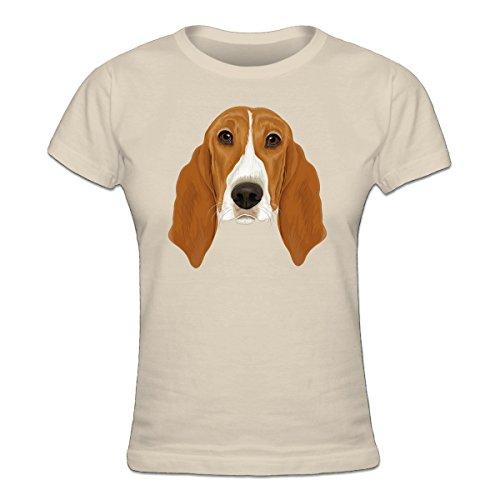 Basset-hound-shirt (Shirtcity Basset Hound Frauen T-Shirt by)
