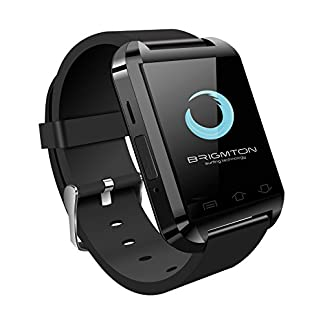 Brigmton BWATCH-BT2N – Smartwatch (1.44″, 32 MB RAM, USB 3.0, Micro-USB), Color Negro