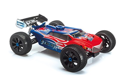 LRP Electronic 131511 - S8 Rebel TX 2.4 GHz RTR, 1/8 Verbrenner Truggy