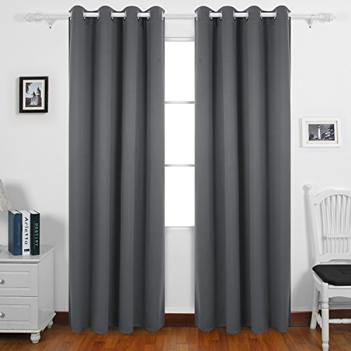 Grey Bedroom Curtains Amazon Co Uk