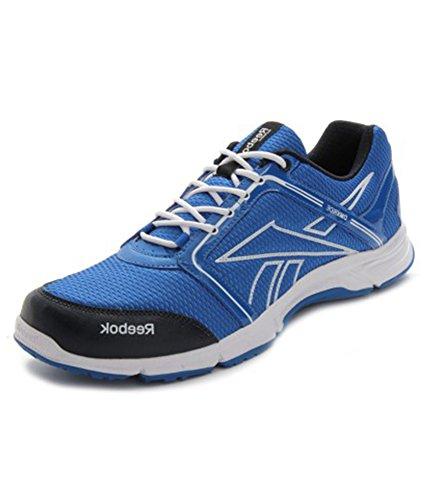 12ca61b928909 Reebok v62246 Men S Run Stream Lp Blue Black And White Running Shoes 7 Uk-  Price in India