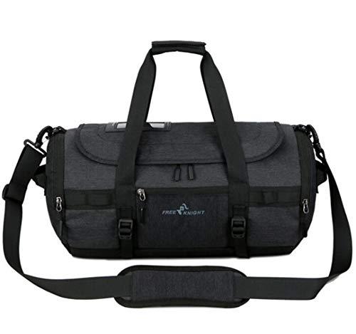 porttasche mit Schuhen Lagerung für Männer Frauen Fitness Yoga Training Taschen Black ()