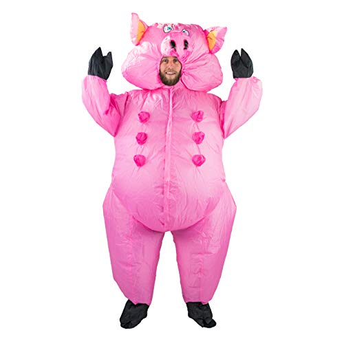 Bodysocks® - costume gonfiabile da maialino, per adulti