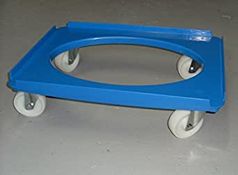m belhund transportroller rollbrett rollplatte blau 625 x 42 mm 250 kg b ckerei. Black Bedroom Furniture Sets. Home Design Ideas