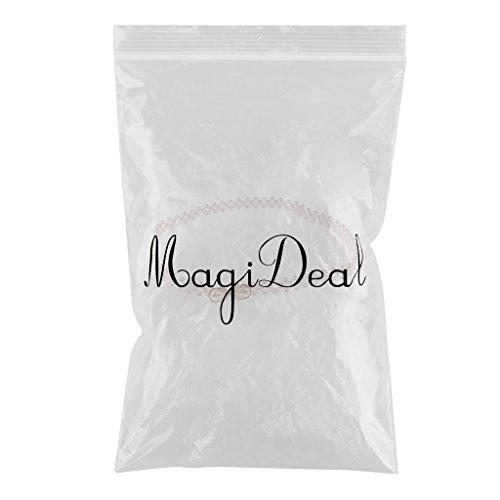 MagiDeal Donne Perla Cintura Cinghia Elastica in Vita con Fibbia da Sposa