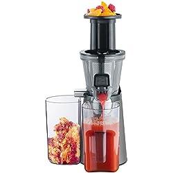 Severin ES 3571 Slow Juicer Estrattore di Succo senza Lame con Contenitori del Succo BPA Free