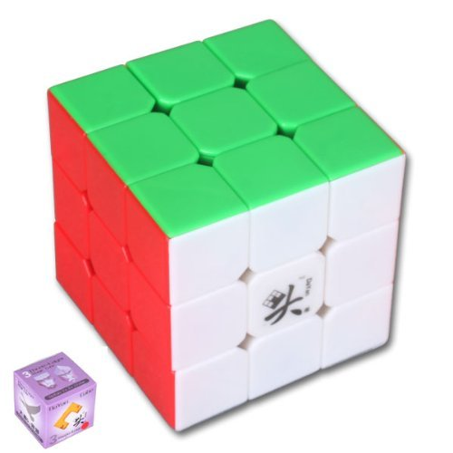 Dayan V5 Zhanchi 5th Generation 3x3x3 Speed puzzle magic Cube 6 Colors  available at amazon for Rs.2095