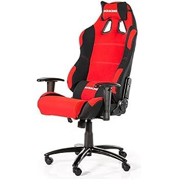 Ak racing gaming chair k7012 tissu noir p tissu black for Chaise klim