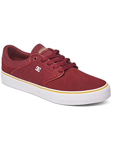 DC Shoes Mikey Taylor Vulc, Sneaker Basse Uomo Maroon