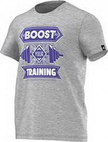 adidas Performance Herren T-Shirt grau/blau