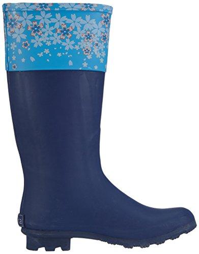 Sanita Agda Welly Damen Langschaft Gummistiefel Blau (Blue 5)