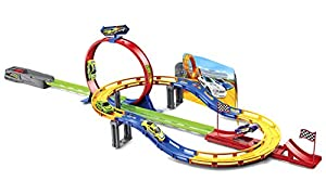 JUINSA- Pista looping y 4 Coches (96052.0)