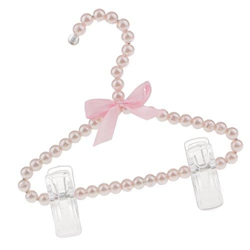 Bogen Kleiderbügel mit Hosenstange Hosenhalter für Kinder Mädchen, 20cm (Baby-boutiquen Online)