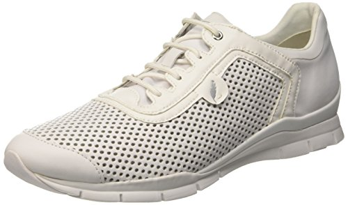Geox D Sukie A, Sneakers basses femme Blanc (WHITEC1000)