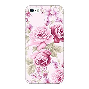 Jugaaduu Floral Pattern Back Cover Case For Apple iPhone 5S