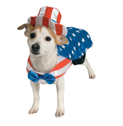 Artikelbild: Uncle Sam Pet Costume, Small by Rubies Costume Company