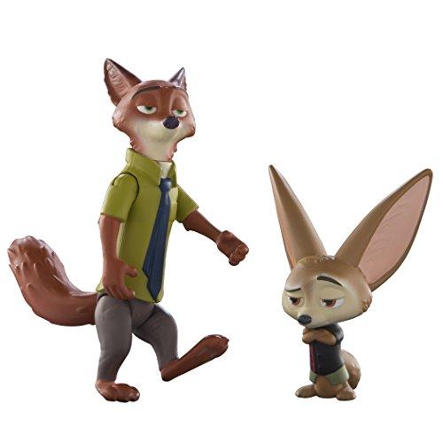 Tomy - L70001EU - Figurine Articulée - Nick et Finnick - Zootopie