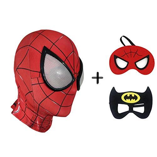 BGHKFF Spiderman Máscara Superhéroe Masquerade Cosplay
