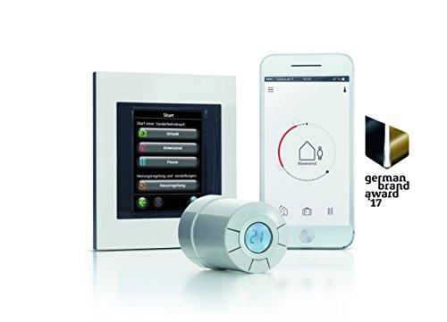 Danfoss Link Starterkit enthält 1 Zentralregler und 3 Connect Thermostate, Farbe weiß, 4 Stück, white, 014G0500 - 3