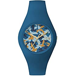 Ice Watch Ice Fly Deep Water Women's Quartz Analogue Watch with Blue Dial and Blue Silicone Bracelet ICE.FY.DWR.U.S.15
