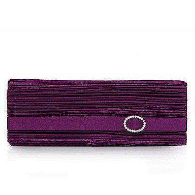 pwne L. In West Wome Die Eleganten High-Grade Falten Abend Tasche Purple