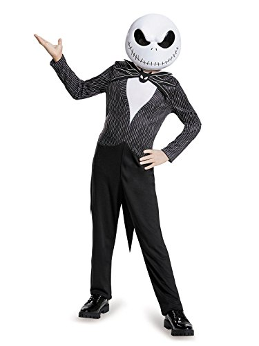 (Disney's Nightmare Before Christmas Jack Skellington Child Classic Costume Medium 7-8)