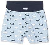 Sanetta Baby-Jungen Shorts, Blau (Fresh Cloud 50295), 74 (Herstellergröße: 074)