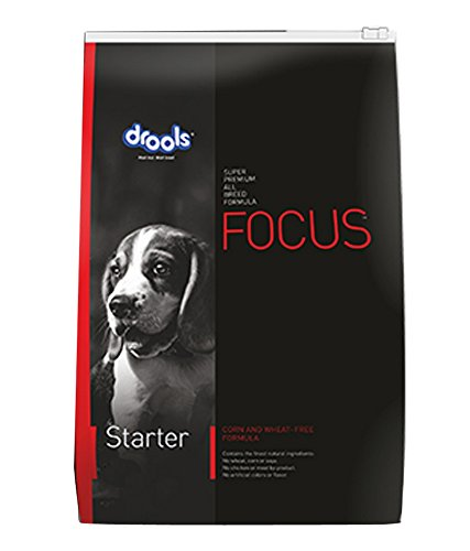 Pawzone Drools Focus Starter Dog Food - 15 Kg