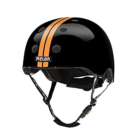 Melon Helm Straight orange-black L-XL (Fahrradhelme Günstig)