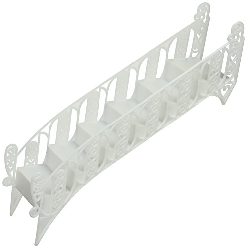Elegant White Tiered Wedding Cake Step Decoration Stair, New in Box by Whimsical Practicality (Cake White Box)
