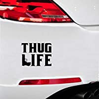 Sticker for Wall Cars Thug Life Sticker Gangster Funny Hater Car Gun Decals Cool Graphics Car Sticker Car Styling for Car Laptop Window Sticker