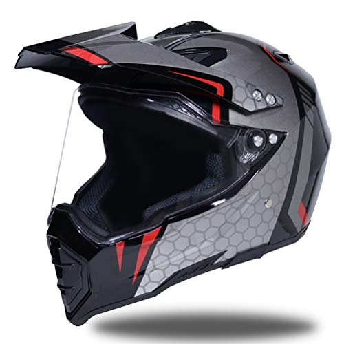 Shorkproof Off Road Full Face Casco Moto Cascos Motocicleta