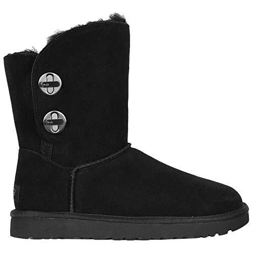 UGG Australia Womens Short Turnlock Suede Boots