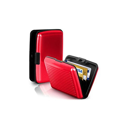 porte-cartes-rouge-cb-carte-bleue-visite-aluminium-rigide-security-credit-cards-wallet-holder-rouge-