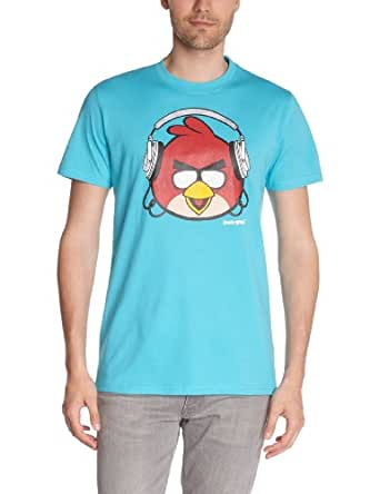 Angry Birds - t-shirt manches courtes - homme - turquoise - m