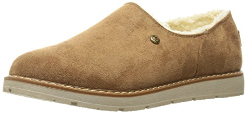 Daim Diamond Mocassino Bob Skechers Noisette Alpino Da Black aTHXw