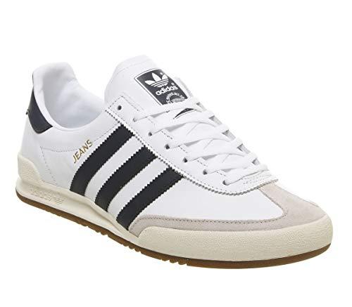 dd560bd30 adidas Jeans, Zapatillas de Gimnasia para Hombre, Blanco FTWR  White/Collegiate Navy/