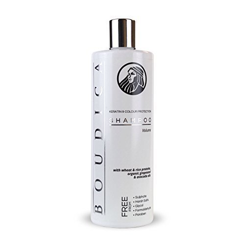 Boudica Volumen sulfatfreies Shampoo - 500 ml (Shampoo Freie Salz)