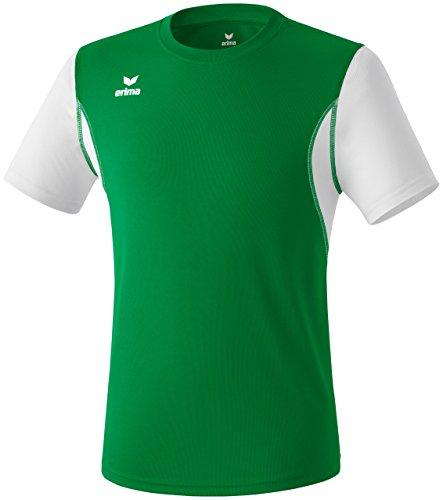 Erima T-shirt pour adultes Vert émeraude/blanc
