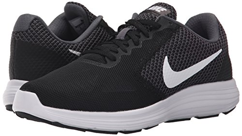 low priced 3423d 6948f Nike Damen Revolution 3 Laufschuhe Grau (Dark GreyWhite-Black) 37.5 EU