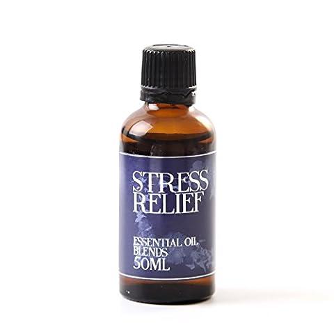 Mystic Moments Soulager le stress Mélange d'huile essentielle–50ml–100% Pure