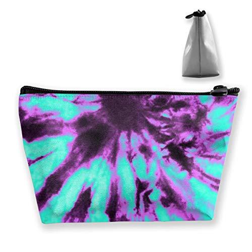 Purple And Blue Tie Dye2 Tixing Kosmetiktasche Reise Kosmetiktaschen Etui Stift
